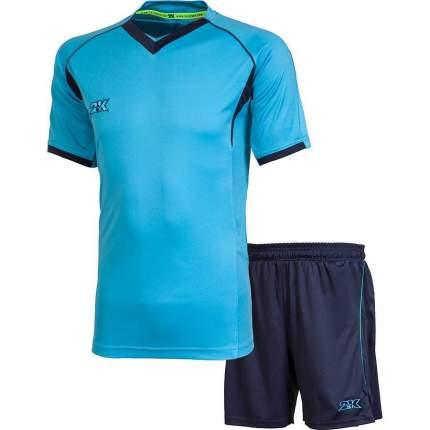 Форма футбольная 2K Agio Pro Line, sky blue/navy, 3XL