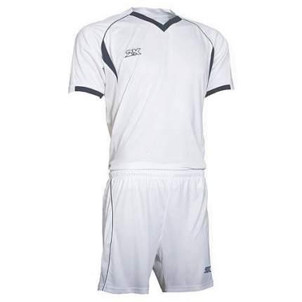 Форма футбольная 2K Agio Pro Line, white/white/navy, 3XL