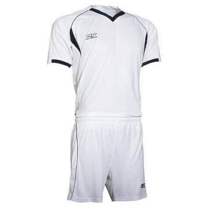 Форма футбольная 2K Agio Pro Line, white/white/black, XL