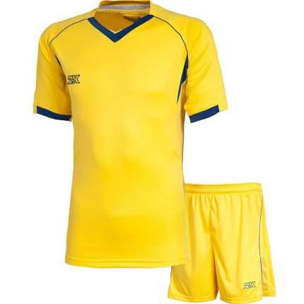 Форма футбольная 2K Agio Pro Line, yellow/yellow/navy, XL