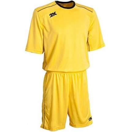 Форма футбольная 2K Crotone, yellow/yellow/black, XXL