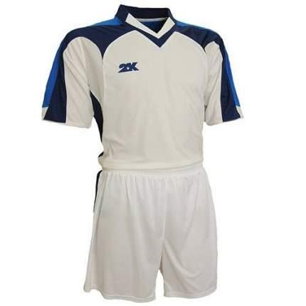 Форма футбольная 2K Manchester, white/royal/navy, XXL