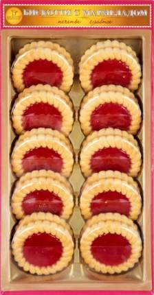 Печенье сдобное Бискотти с мармеладом вишня 235 г