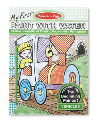 Водные раскраски Транспорт Melissa & Doug 9339