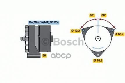 Генератор Bosch 0 986 033 510