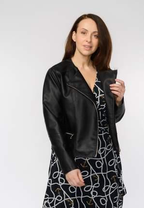 Куртка женская Modis M201W00843S642 черная 5XL