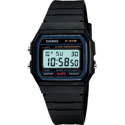 Наручные часы электронные мужские Casio Collection F-91W-1Q