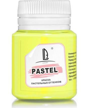 Акриловая краска LuxPastel , 20 мл, желтый лимон пастельный Luxart A5V20