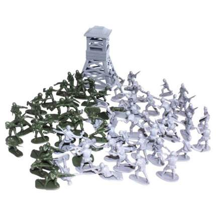 БИПЛАНТ Игровой набор Рота солдат, арт. 12053