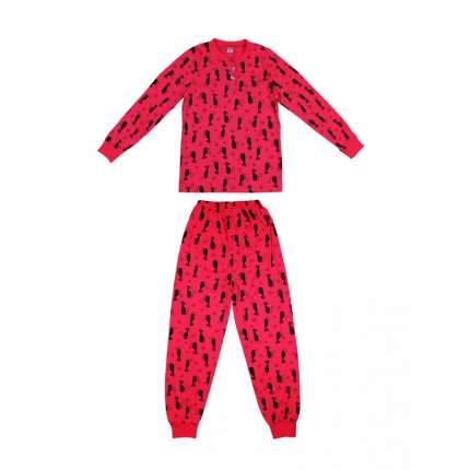 Пижама детская Bonito kids, цв. красный р.122