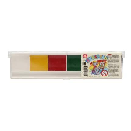 Акварель, 6 цветов Проф-Пресс КА-4586