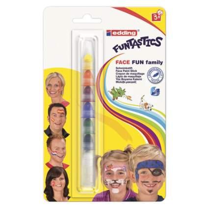 Грим для лица Edding. Funtastics , 7 цветов Edding E-47FUN/1-B
