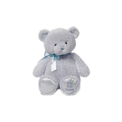 Игрушка мягкая Gund My First Teddy голубой мишка 45,5 см