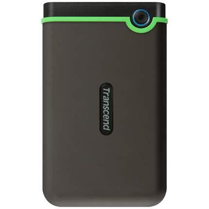 Внешний диск HDD Transcend StoreJet 2TB Green/Black (TS2TSJ25M3S)