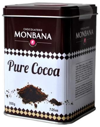 Какао 100% Monbana ж/б 200 г