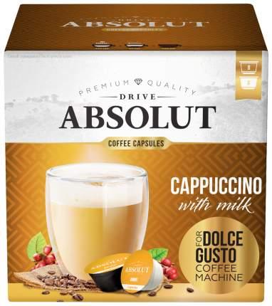 Кофе Absolut Drive Drive Сappuccino в капсулах для кофемашины Dolce Gusto 16 капсул