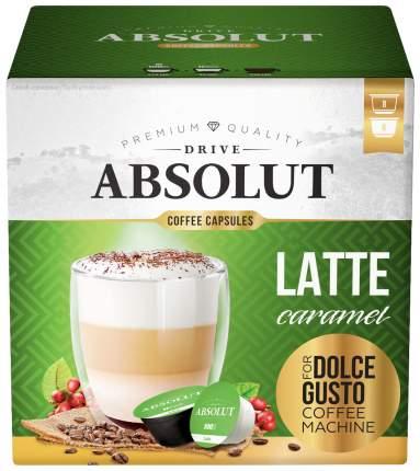 Кофе Absolut Drive Latte Caramel в капсулах для кофемашины Dolce Gusto 16 капсул