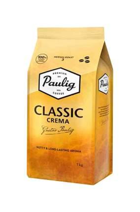 Кофе Paulig Classic Crema в зернах 1 кг