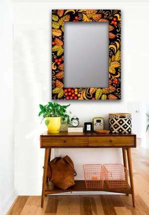 Зеркало настенное Дом Корлеоне Рябиновый куст 04-0099-75х110 75х110 см, уф печать