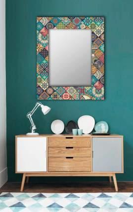Зеркало настенное Дом Корлеоне Арабская плитка 04-0109-65х80 65х80 см, уф печать