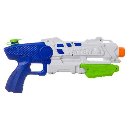 Водный пистолет Bondibon Наше лето, бело-синий