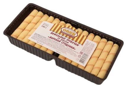 Вафельные трубочки Семейка Озби со вкусом вареной сгущенки 180 г