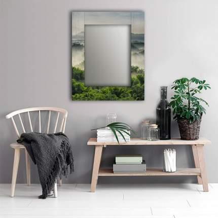 Зеркало настенное Дом Корлеоне Зеленая долина 04-0021-75х110 75 х 110 см, разноцветный