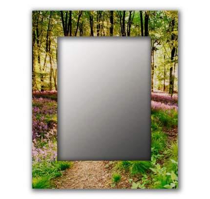 Зеркало настенное Дом Корлеоне Лесные цветы 04-0054-65х80 65х80 см, уф печать