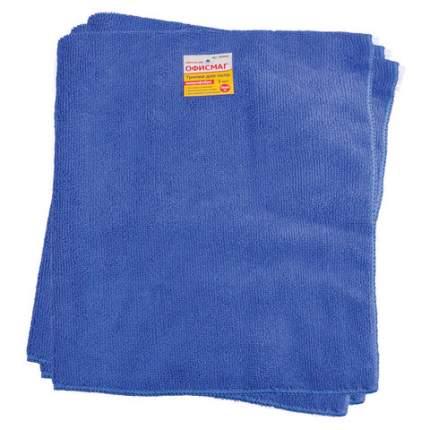 Тряпки для мытья пола, 3 штуки, 50х60 см, цвет синий