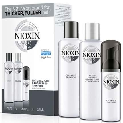 Набор Nioxin System 2 Kit шампунь 300мл + кондиционер 300мл + маска 100мл