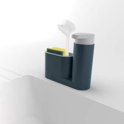Органайзер для раковины с дозатором для мыла sinkbase серый