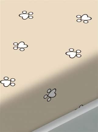 Простынь Сказка -Котики (компаньон)- 150х215 см 1,5-спальная
