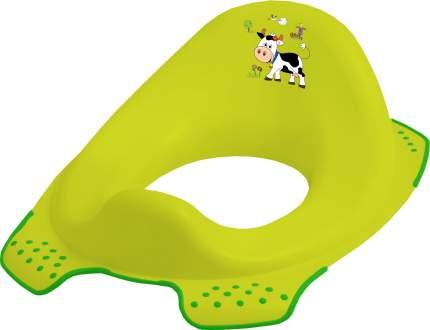 Сиденье-накладка на унитаз с антискользящей функцией Keeeper Disney ewa funny farm