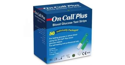 Тест-полоски для определения уровня глюкозы в крови Acon Laboratories 50 шт.