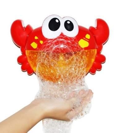 Игрушка для ванной Bubble Crab Пузырящийся краб красный