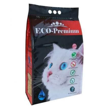 Наполнитель для кошачьего туалета ECO Premium, гигиенический древесный, 7,6 кг