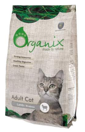 Сухой корм для кошек Organix Adult Cat, ягненок, 1,5кг
