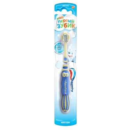Зубная щетка Aquafresh Мой первый зубик, для детей от 0 до 2 лет