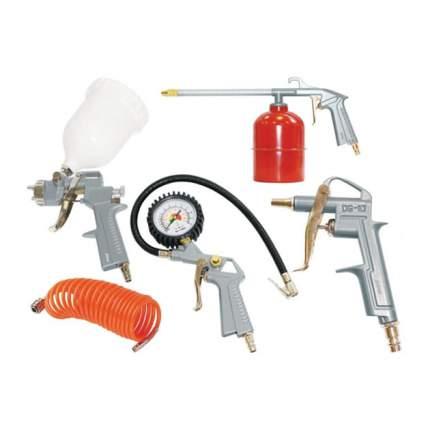 Набор пневмоинструмента 5 предметов (к/р с верхним бачком)