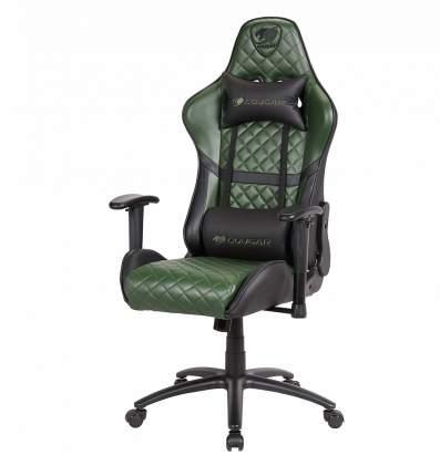Игровое кресло Cougar Armor One-X CU-ARMone-x, черный/зеленый