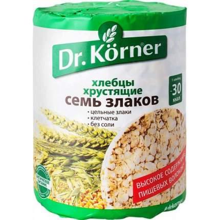 Хлебцы хрустящие Dr.Kоrner семь злаков 100 г
