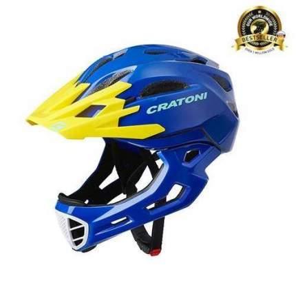 Шлем CRATONI C-MANIAC FULL FACE BLUE YELLOW