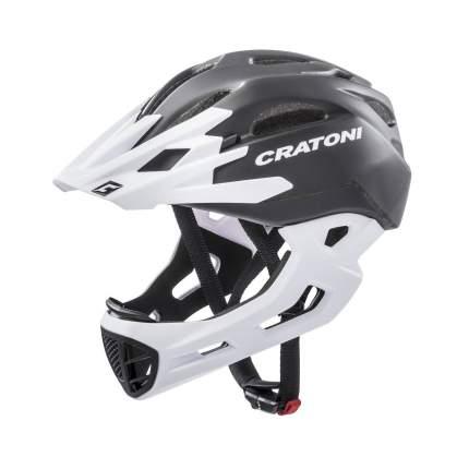 Шлем CRATONI C-MANIAC FULL FACE BLACK WHITE