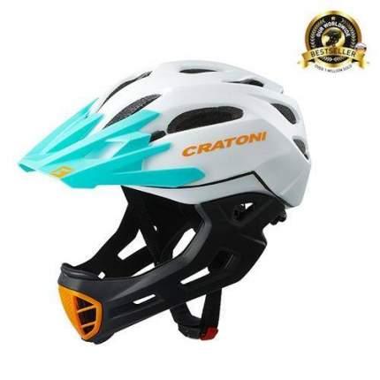 Шлем CRATONI C-Maniac FULL FACE white black