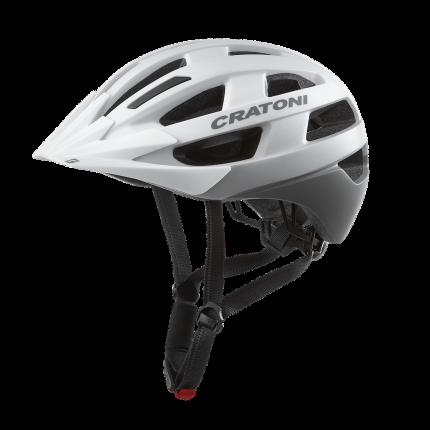 Велосипедный шлем Cratoni Velo-X, white matt, M/L