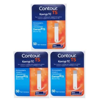 Тест-полоски Contour TS 3 упаковки 50 шт.