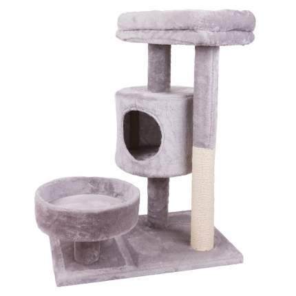 Комплекс для кошек Не Один Дома, серый, 3 уровня
