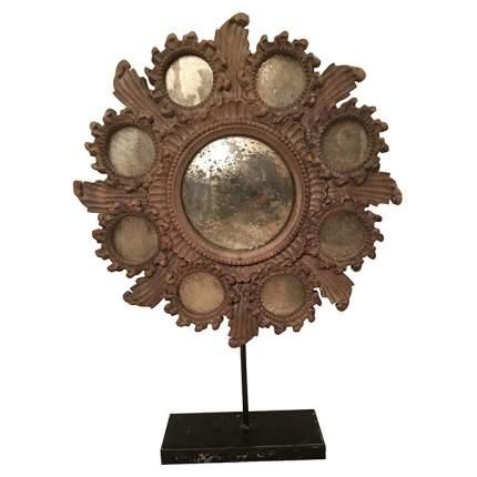 Зеркало настольное ROOMERS MM-41 49х67 см, old garden wood