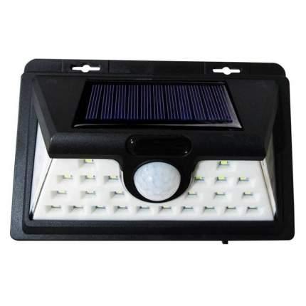 Фонарь настенный на солнечных батареях Solar Induction Lamp 1828B с датчиком движения