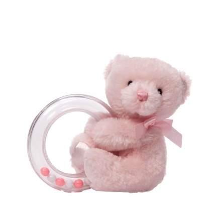 Игрушка мягкая My First Teddy Rattle Pink 10 см Gund